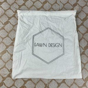 "Fawn Design Dust Bag Canvas Drawstring 14"" x 14"""